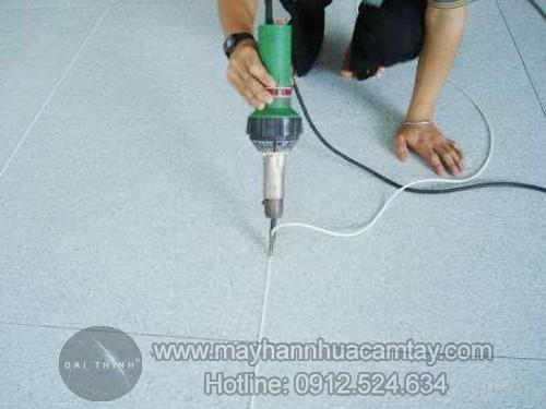 Máy hàn sàn nhựa cầm tay DSH XA